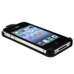 BasAcc Black Swivel Holster for Apple iPhone 4/ 4S - Thumbnail 2