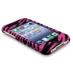 BasAcc Pink Zebra Snap-on Case for Apple iPhone 3G/ 3GS - Thumbnail 2