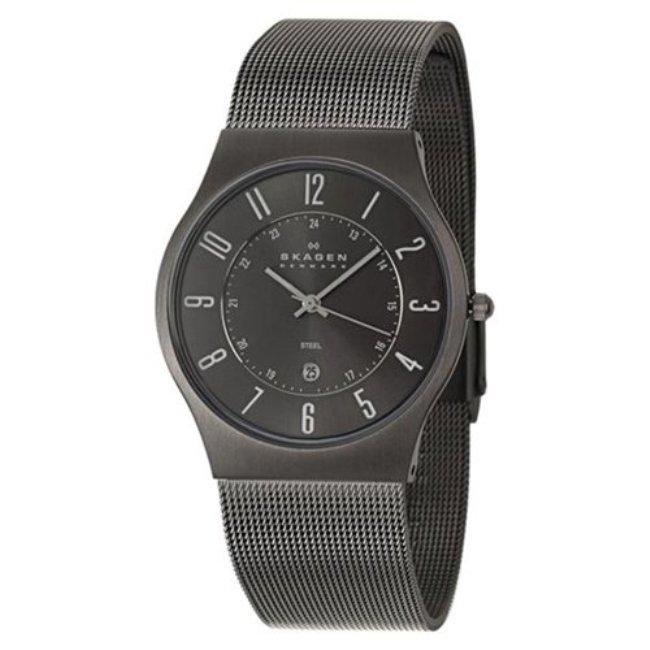 Skagen Men's Grey Steel Watch