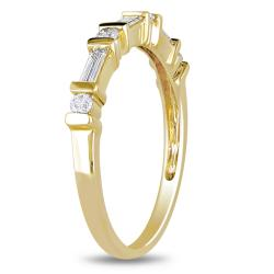 10k Yellow Gold 1/3ct TDW Diamond Ring - Thumbnail 1