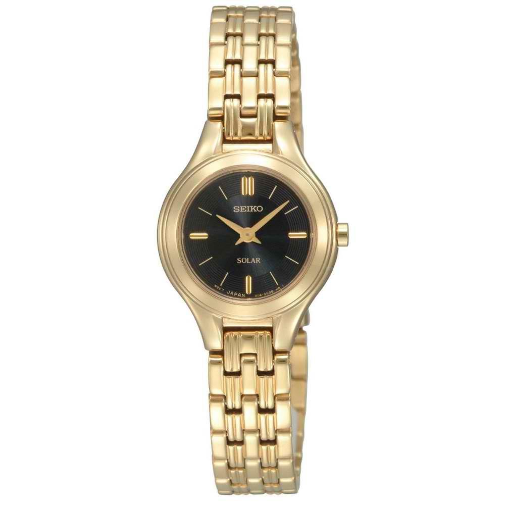 Seiko Women's Goldtone Solar Powered Watch