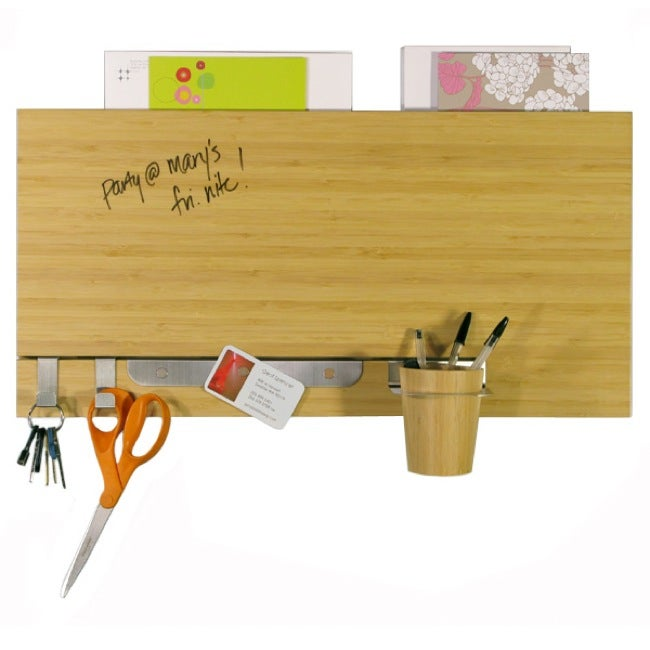 Bamboo Dry Erase Accented Wall Panel