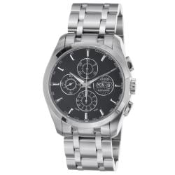 Tissot Men's 'Couturier' Black Dial Stainless Steel Automatic Watch