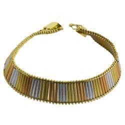 Fremada 14k Tri-color Gold 7-inch Athina Bracelet https://ak1.ostkcdn.com/images/products/79/468/P14223492.jpg?impolicy=medium