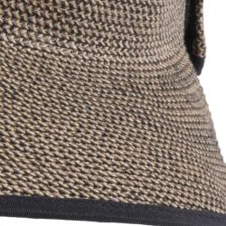 Hailey Jeans Co. Women's Bow Accent Tweed Roll-up Visor Hat - Thumbnail 2
