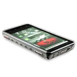 BasAcc Clear White Argyle TPU Case for Motorola Droid Xtreme MB810 - Thumbnail 2