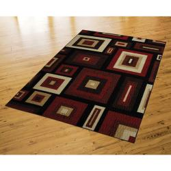 New Wave Russet Red Rug (8' x 10')