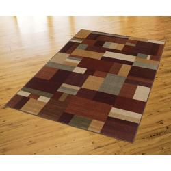 New Wave Earth Hue Multi Rug (8' x 10') - Thumbnail 2