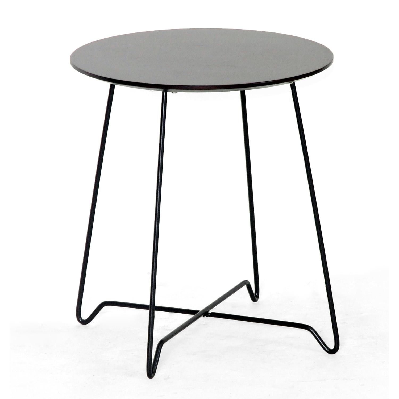 Dyer Dark Brown Modern End Table