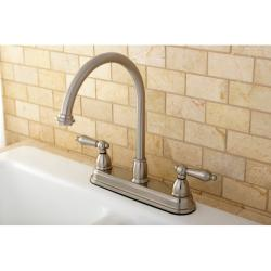 High Spout 2-handle Kitchen Faucet