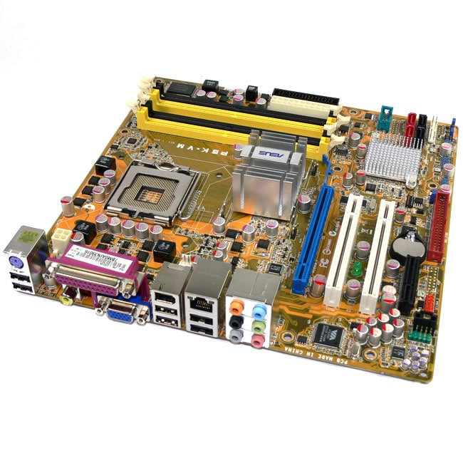 Asus P5KVM Intel Socket T LGA775 G33 1333MHz Motherboard (Refurbished)
