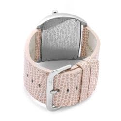 Lucien Piccard Women's 'Junior Stratosphere' Light Pink Leather Watch - Thumbnail 1