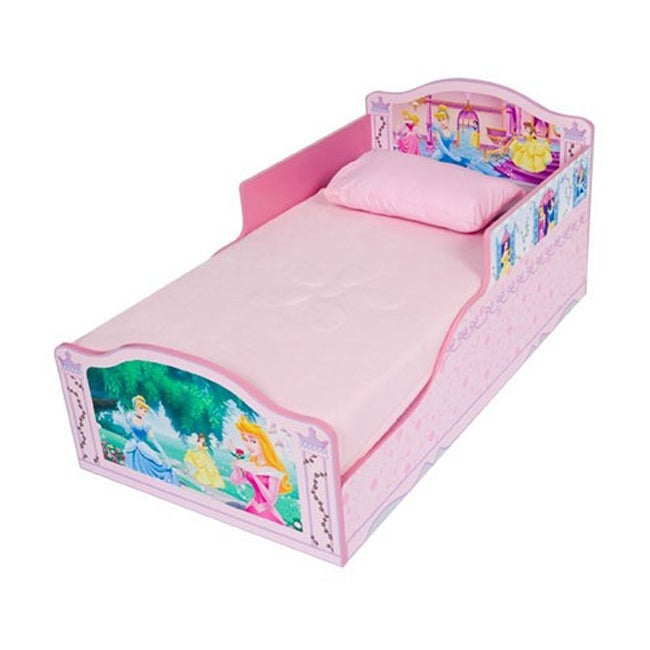 Disney Princess Wooden Toddler Bed