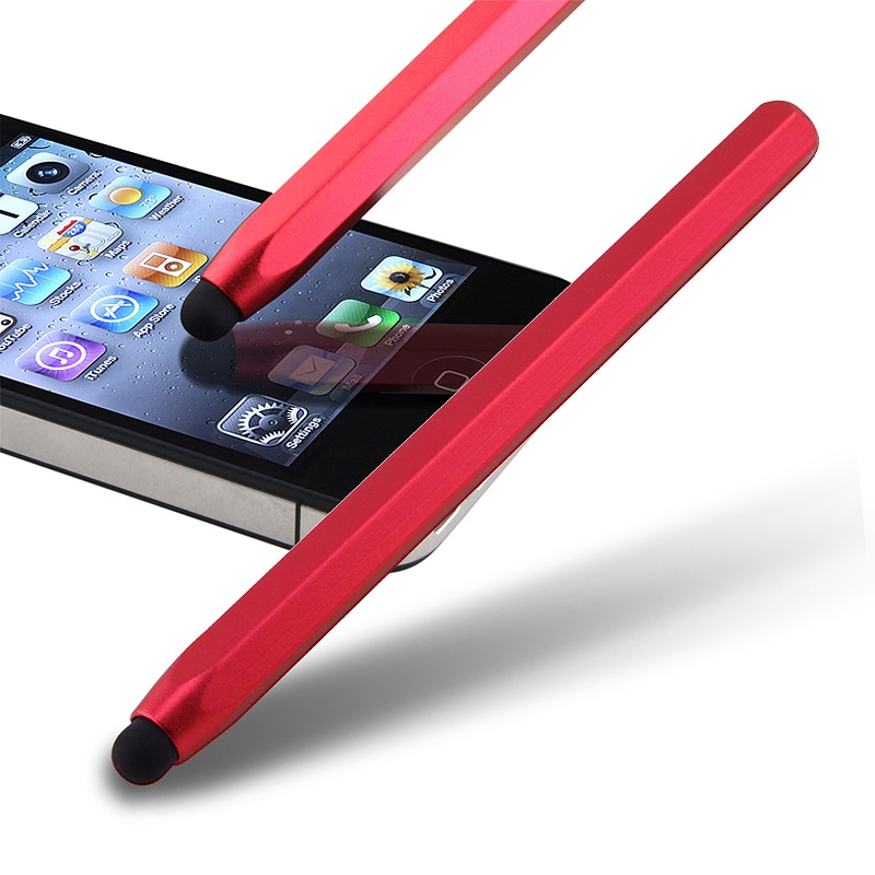 Red Metal Stylus for Apple iPhone/ iPod/ iPad
