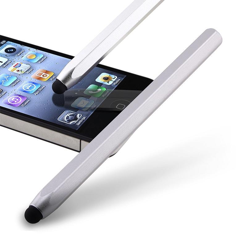 Silver Metal Stylus for Apple iPhone/ iPod/ iPad