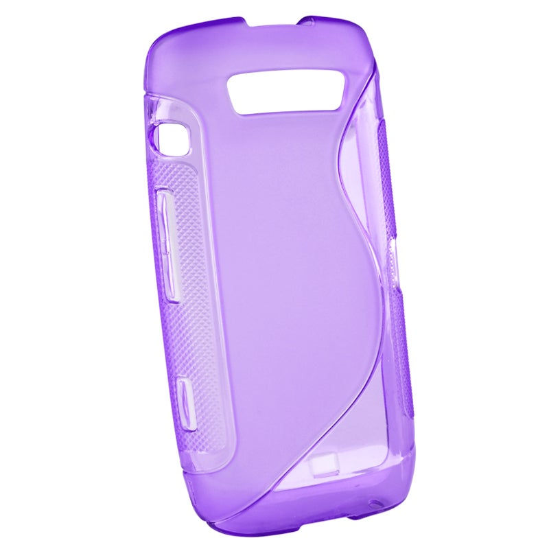 Frost Purple S TPU Rubber Case for BlackBerry Torch 9850/ 9860/ 9570