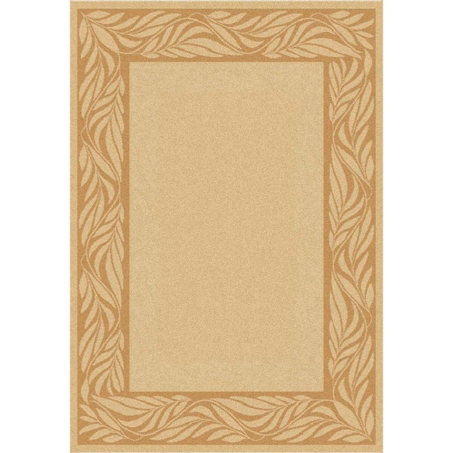Safavieh Tranquil Natural/ Terracotta Indoor/ Outdoor Rug - 2' x 3'7