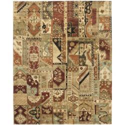 Safavieh Handmade Patchwork Multi Hand-spun Wool Rug (9'6 x 13'6)