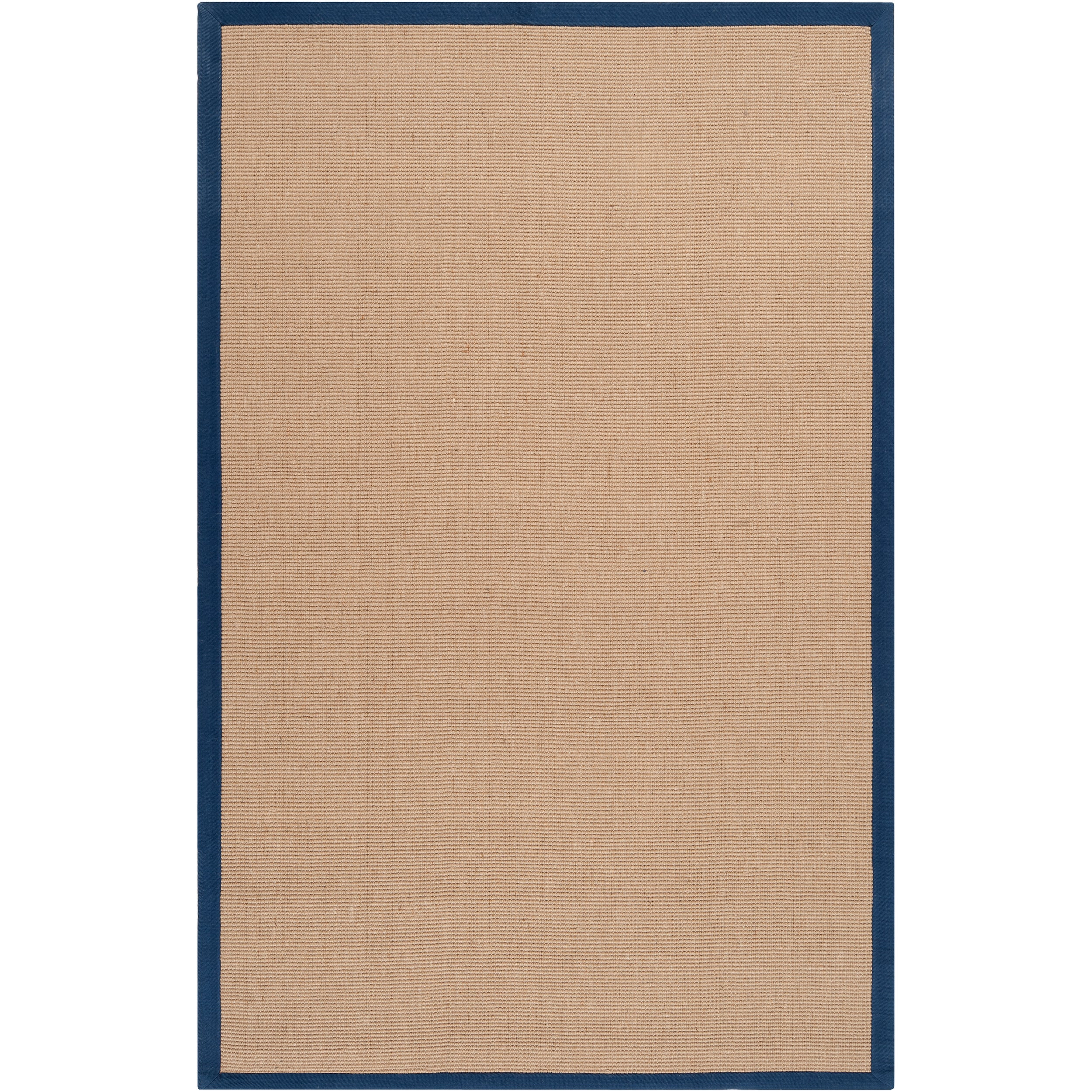 Hand Woven Navy Sophie B Natural Fiber Jute Area Rug 8