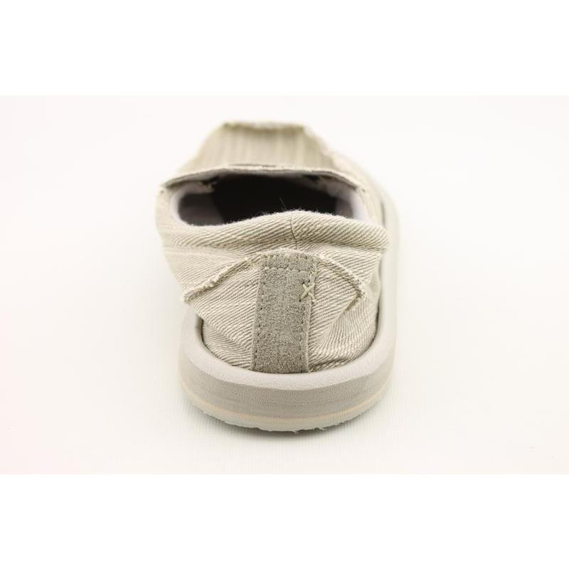 Sanuk Men's Kyoto Gray Casual Shoes (Size 9)