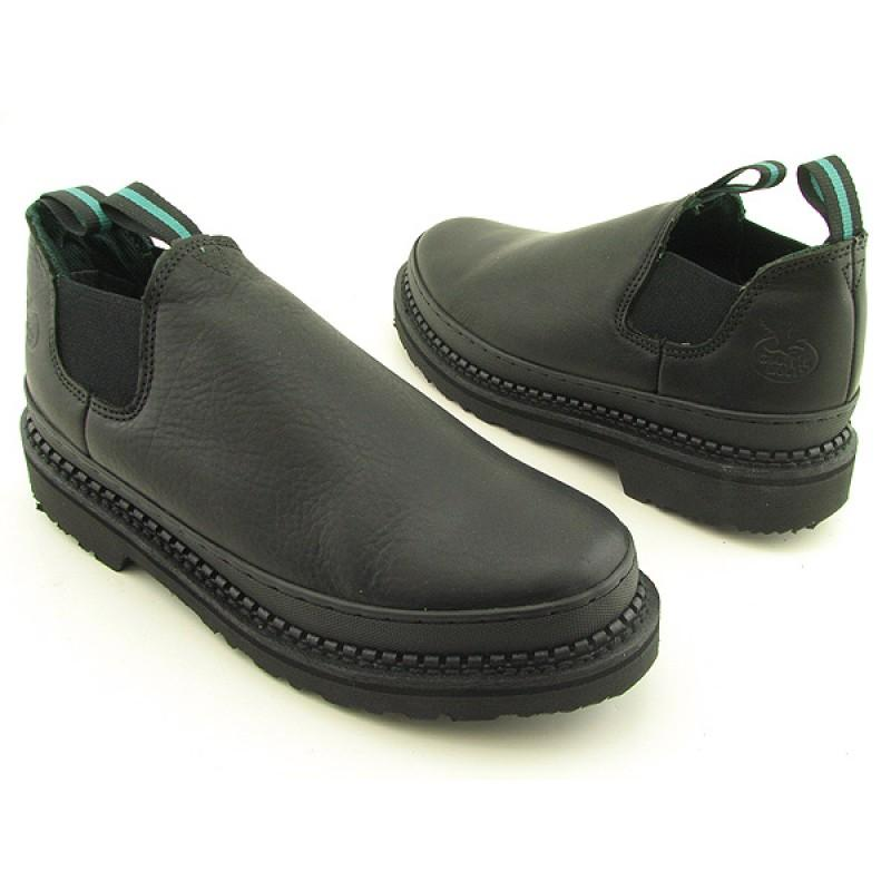 GEORGIA Men's Giant Romero Black Casual, Comfort (Size 8.5)