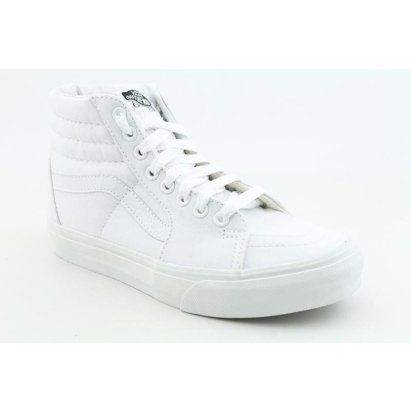 Vans Men's Sk8 Hi White Athletic - Thumbnail 0