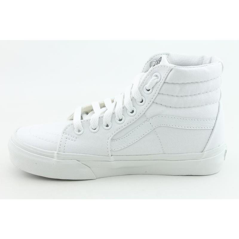 Vans Men's Sk8 Hi White Athletic - Thumbnail 1