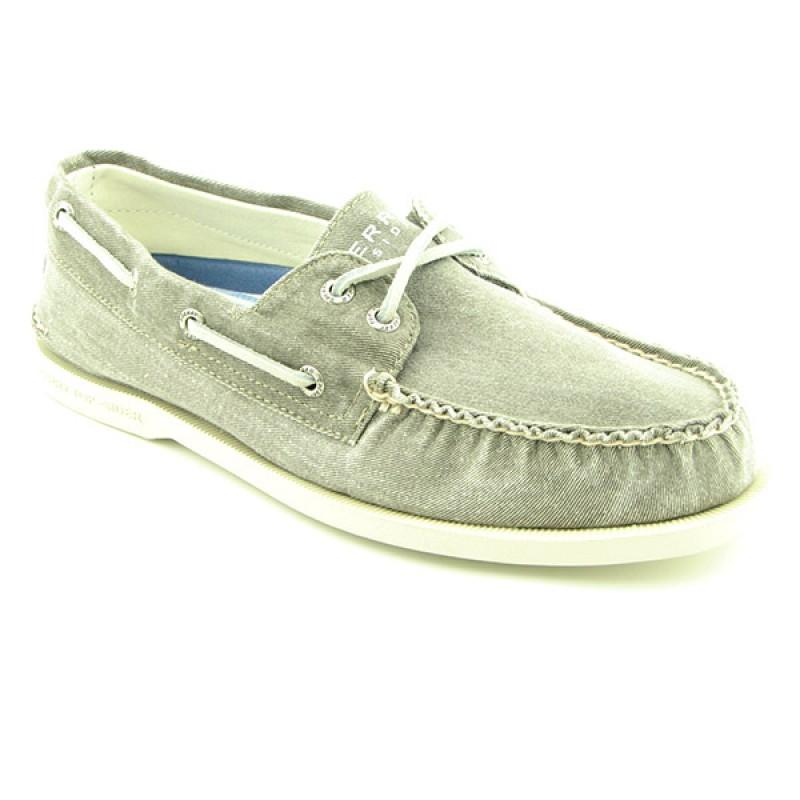 SPERRY TOP SIDER Men's A/O 2 Eye Gray Casual