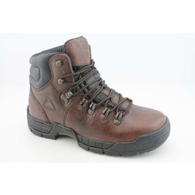 """Rocky Work Men's 7114 MobiLite 6"""" Browns Boots"""