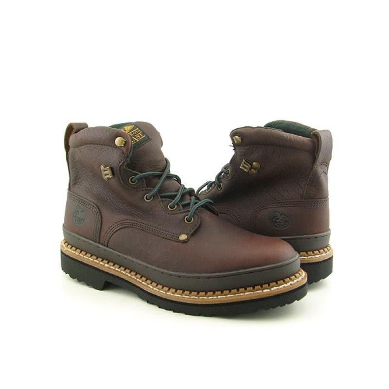 GEORGIA Men's G6374 Giant Brown Boots (Size 10)