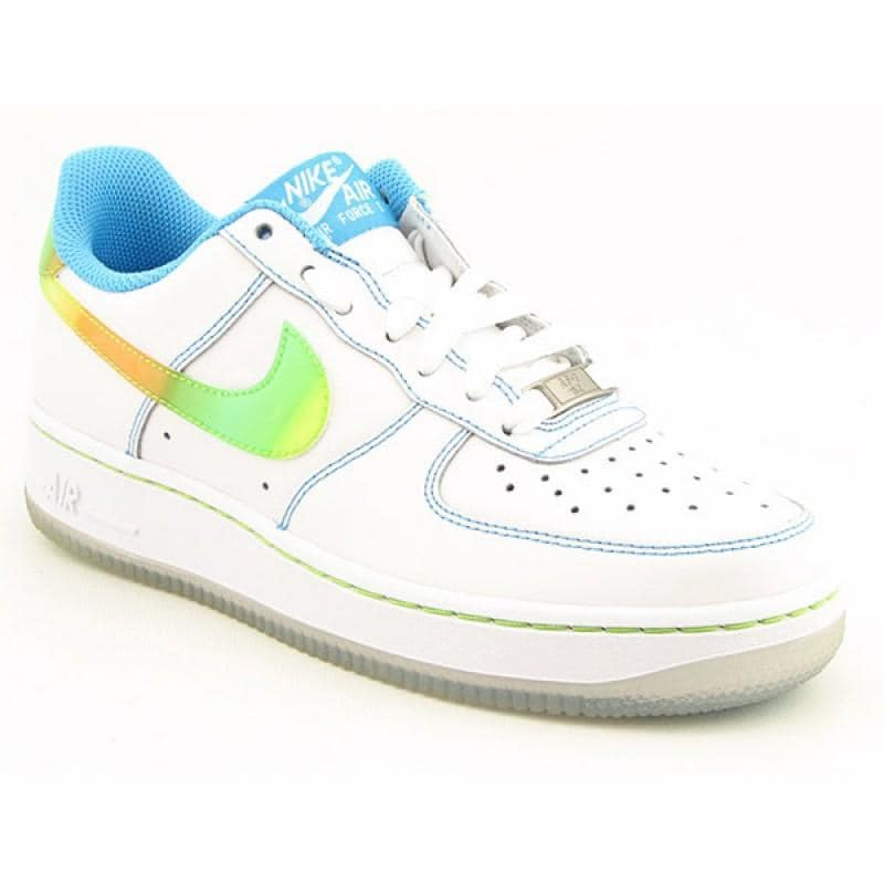 newest 19fe0 31cc2 Nike Youth Kids Boys  x27 s Air Force 1LE White Athletic ...