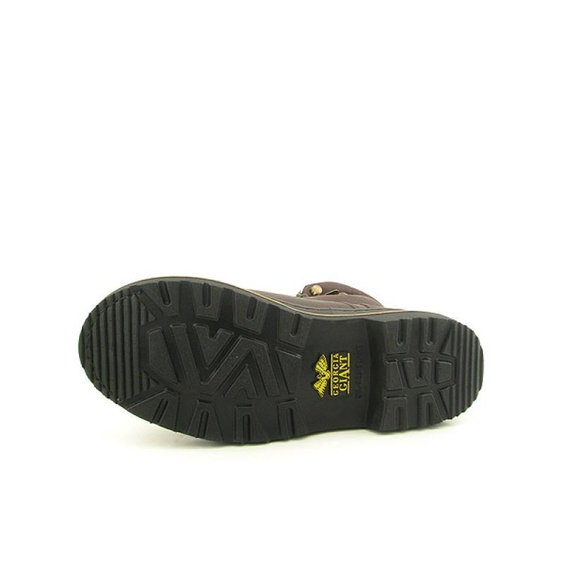 GEORGIA Men's G6374 Giant Brown Boots (Size 10) - Thumbnail 1