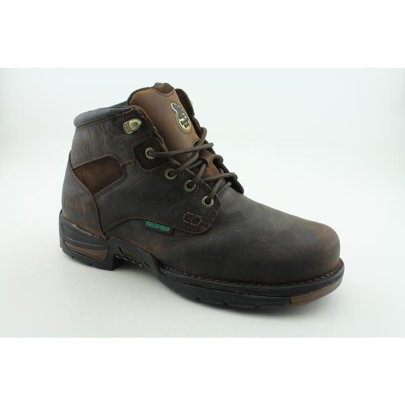 "Georgia Men's G6403 6"" GWP Work Browns Boots"