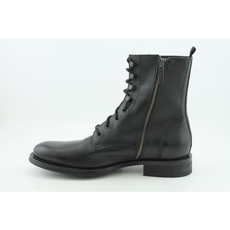 Kenneth Cole NY Men's Test Your Mind Black Boots - Thumbnail 1