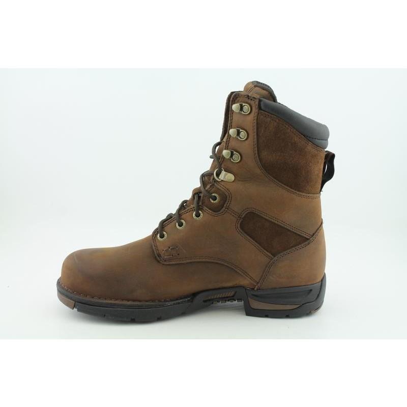 "Georgia Men's G8453 8"" GWP Work Athens Browns Boots - Thumbnail 2"