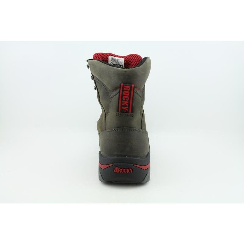 """Rocky Men's 6975 8"""" Work Forge Browns Boots - Thumbnail 2"""