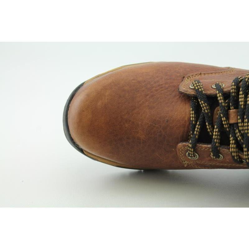 "Georgia Men's G6425 6"" Work ST Diamond Trax Browns Boots - Thumbnail 2"