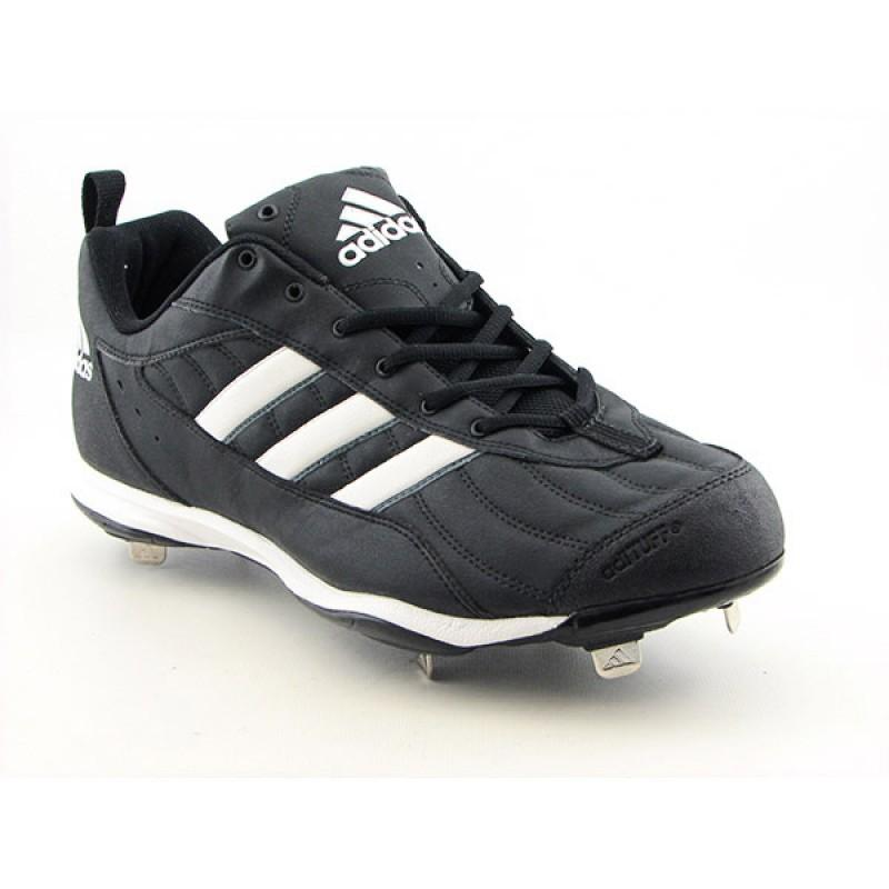 Adidas Men's Spinner III Black Athletic Baseball Cleats (Size 15)