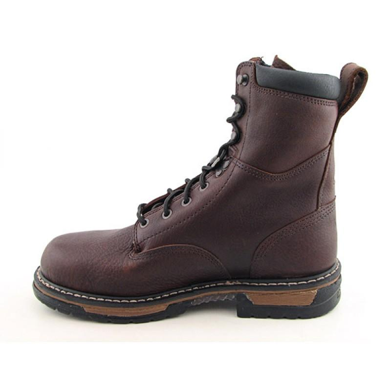 Rocky Men's Ironclad Brown Boots - Thumbnail 1