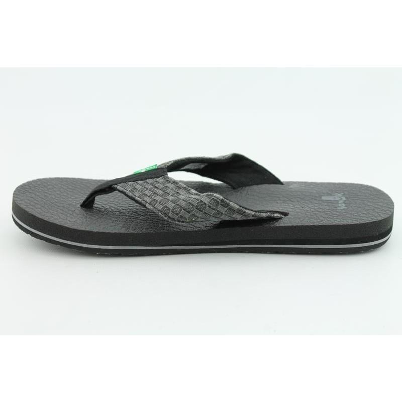 Sanuk Men's Yogi II Black Sandals - Thumbnail 1