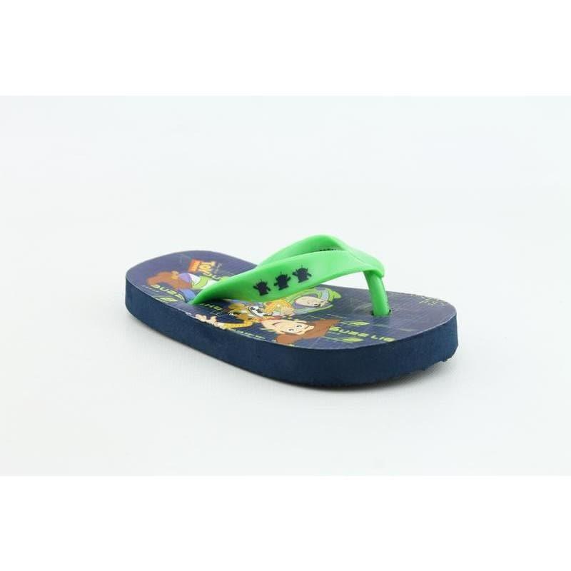 Disney Pixar Youth's Buzz & Woody Flip Flop Green Sandals