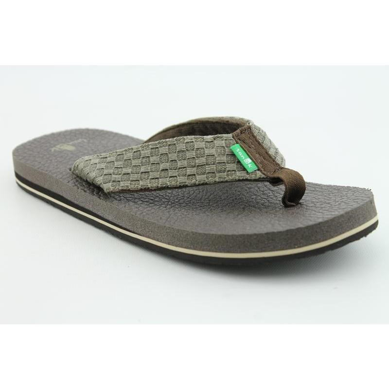 Sanuk Men's Yogi II Brown Sandals