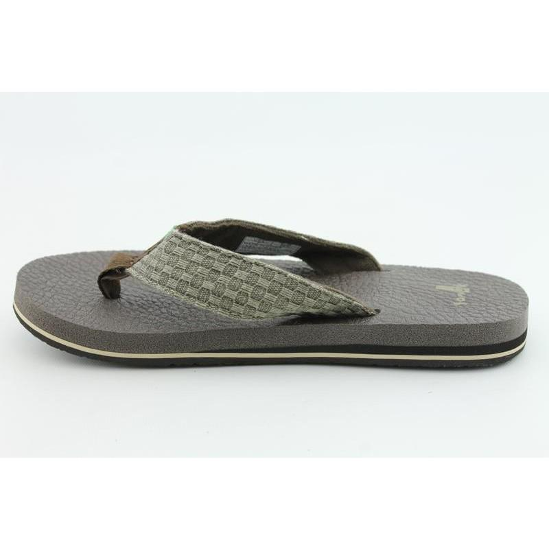 Sanuk Men's Yogi II Brown Sandals - Thumbnail 1