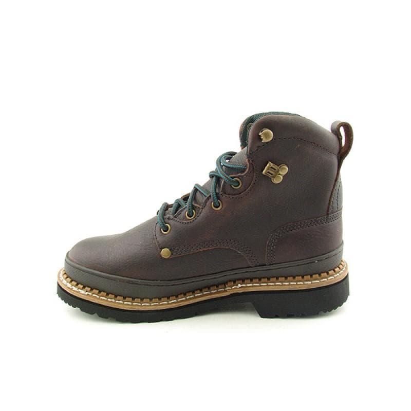 """GEORGIA Men's 6374 6"""" Giant ST Brown Boots - Thumbnail 1"""