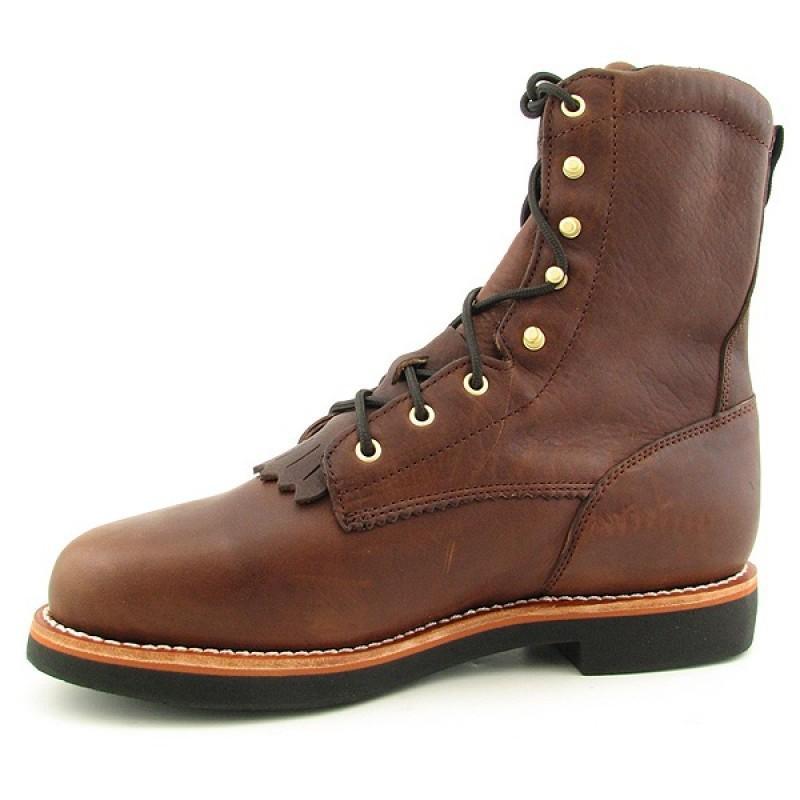 GEORGIA Men's G7014 Brown Boots - Thumbnail 1
