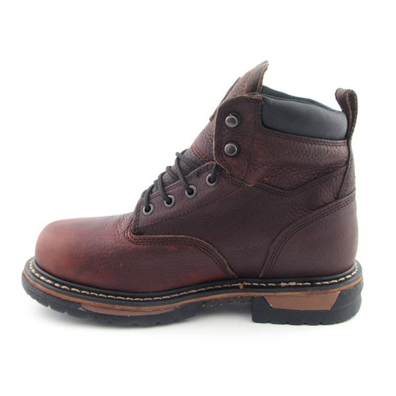 ROCKY Men's 5696 Iron Clad Brown Boots - Thumbnail 2