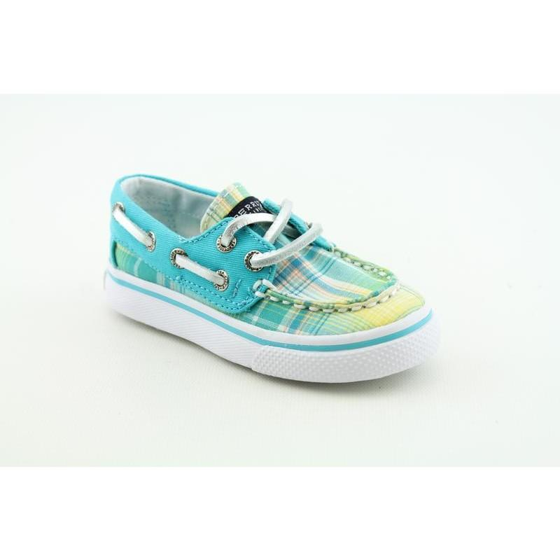 Sperry Top Sider Girls's Bahama Blues Casual Shoes (Size 5)