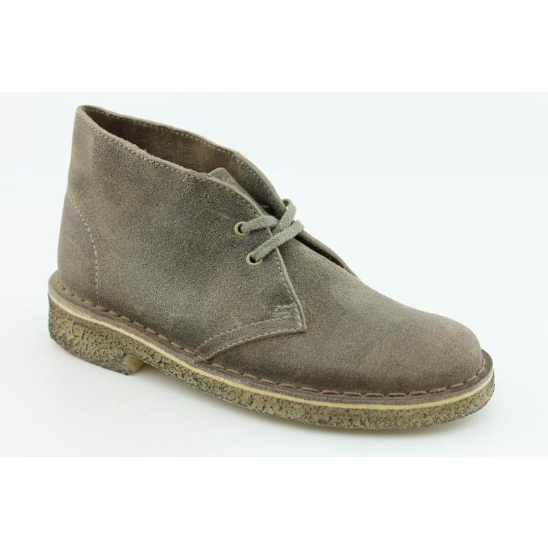 Clarks Originals Women's Desert Boot Gray Boots
