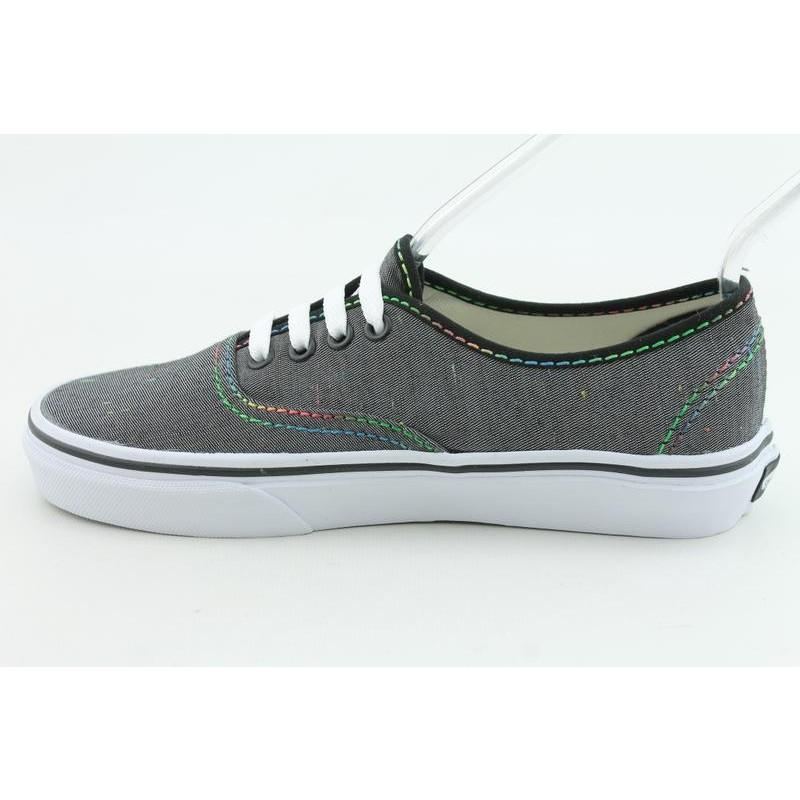 Vans Youth's Authentic Gray Casual Shoes - Thumbnail 1