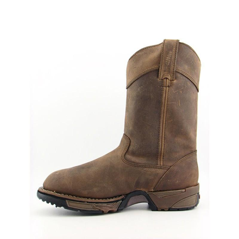 Rocky Men's 5639 Aztec Brown Boots - Thumbnail 1